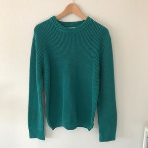 UO Green Thick Oversized Sweater